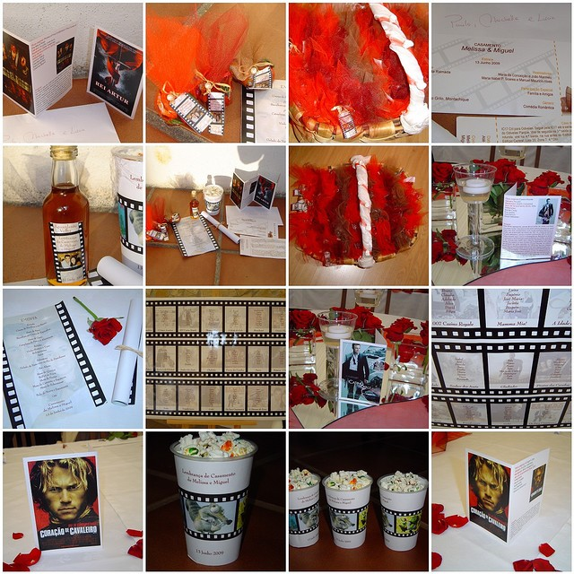 Decoration Theme Cinema A Faire Soi Meme.Mariage Theme Cinema Idees Originale Pour Mariage Theme
