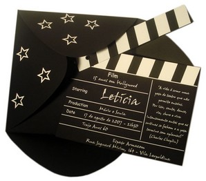 faire-part-original-texte-pour-mariage-theme-cinema-hollywood