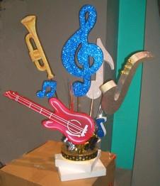 Idees originale pour mariage theme instruments notes de - Fabriquer un instrument de musique original ...