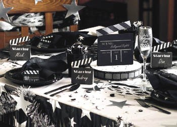 deco anniversaire cinema theme anniversaire. Black Bedroom Furniture Sets. Home Design Ideas