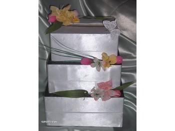 urne de mariage- urne pour mariage theme papillon- deco urne mariage ...